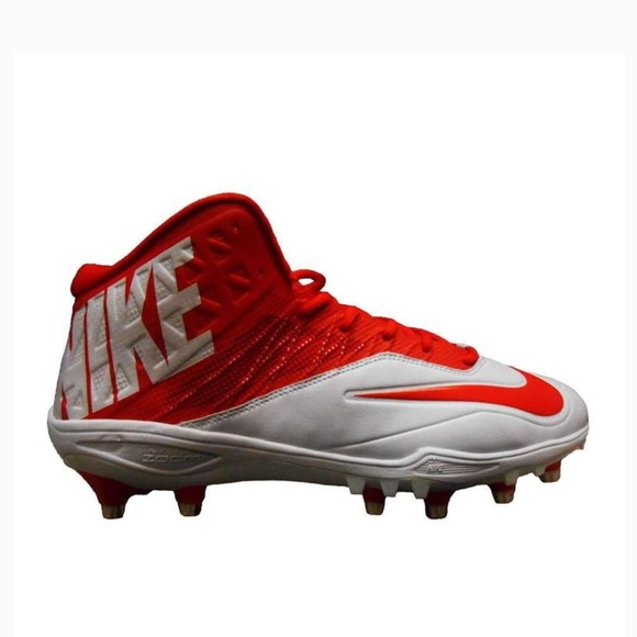 best loved 852eb 9e3b7 Nike Zoom Code Elite 3 4 TD Football Cleats Red